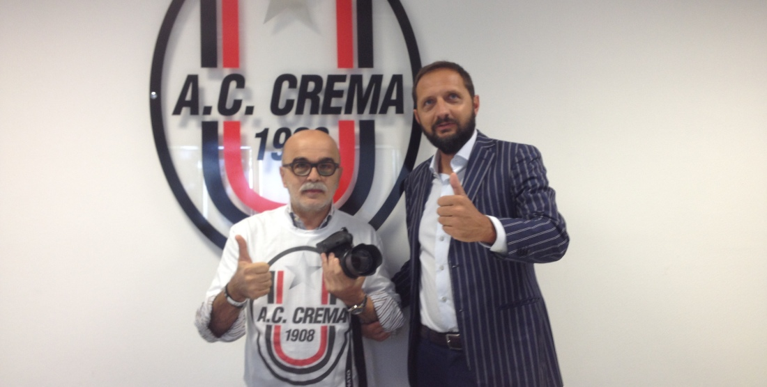 CS/ A.C. Crema 1908 ha un fotoreporter ufficiale per la stagione 2015/2016