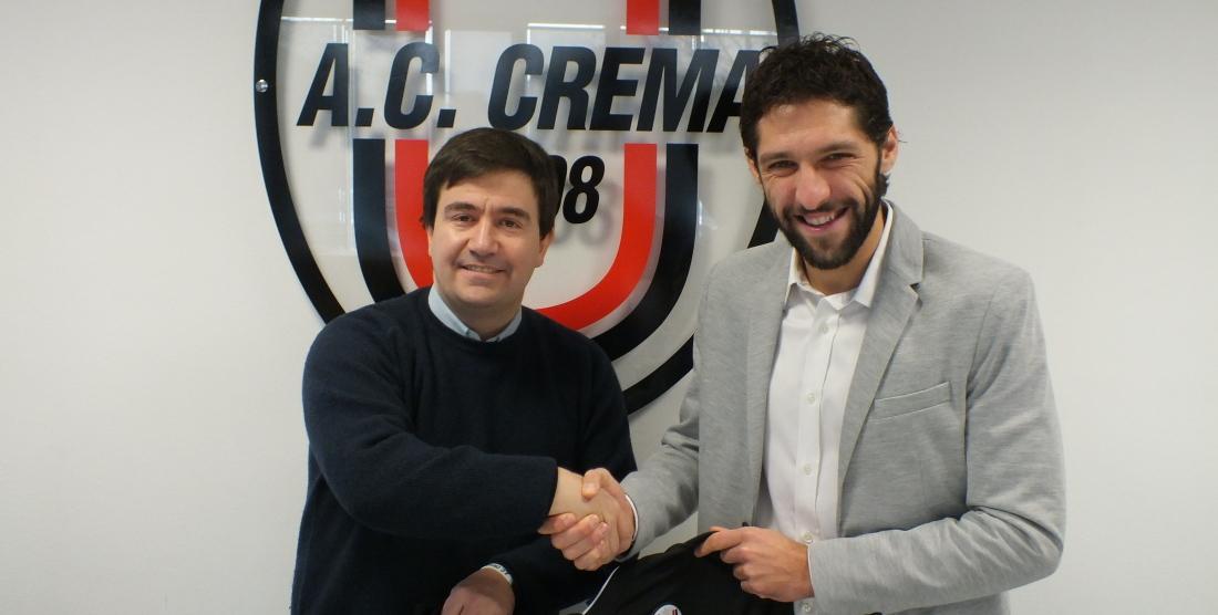 Michele Patrini è il nuovo difensore dell'A.C. Crema 1908
