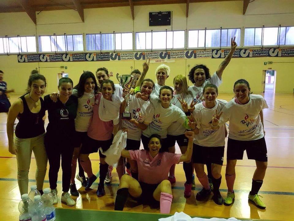 CALCIO FEMMINILE A 5, CAMPIONESSE PROVINCIALI