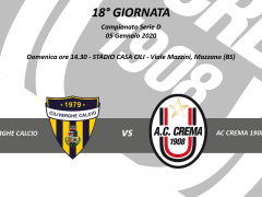 CILIVERGHE VS AC CREMA 1908
