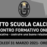 INCONTRO FORMATIVO 31 MARZO 2021 - FB