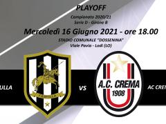 PLAYOFF - FANFULLA VS AC CREMA 1908 FB